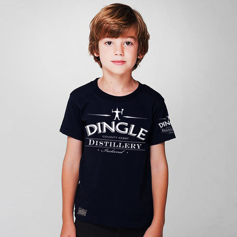 Dingle Single Jersey Tee Shirt For Kids-Navy-BA000163
