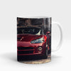 Dodge Red Metallic Viper Printed Mug-NA5727
