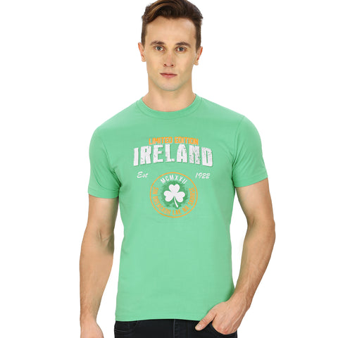 Dolmen - Tee Shirt-For-Men Light Green-BA000167