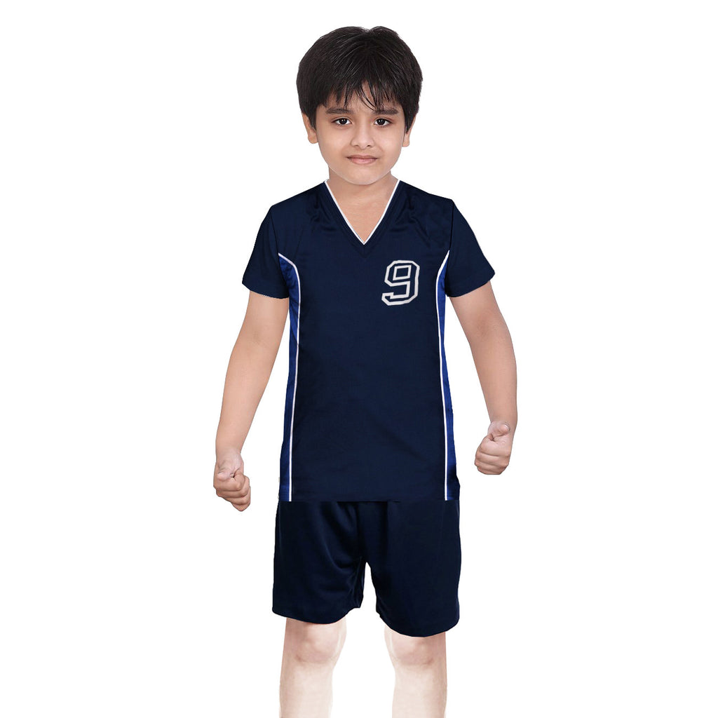 Oliver Duke Sports Suit For Kid-Navy-BE2245