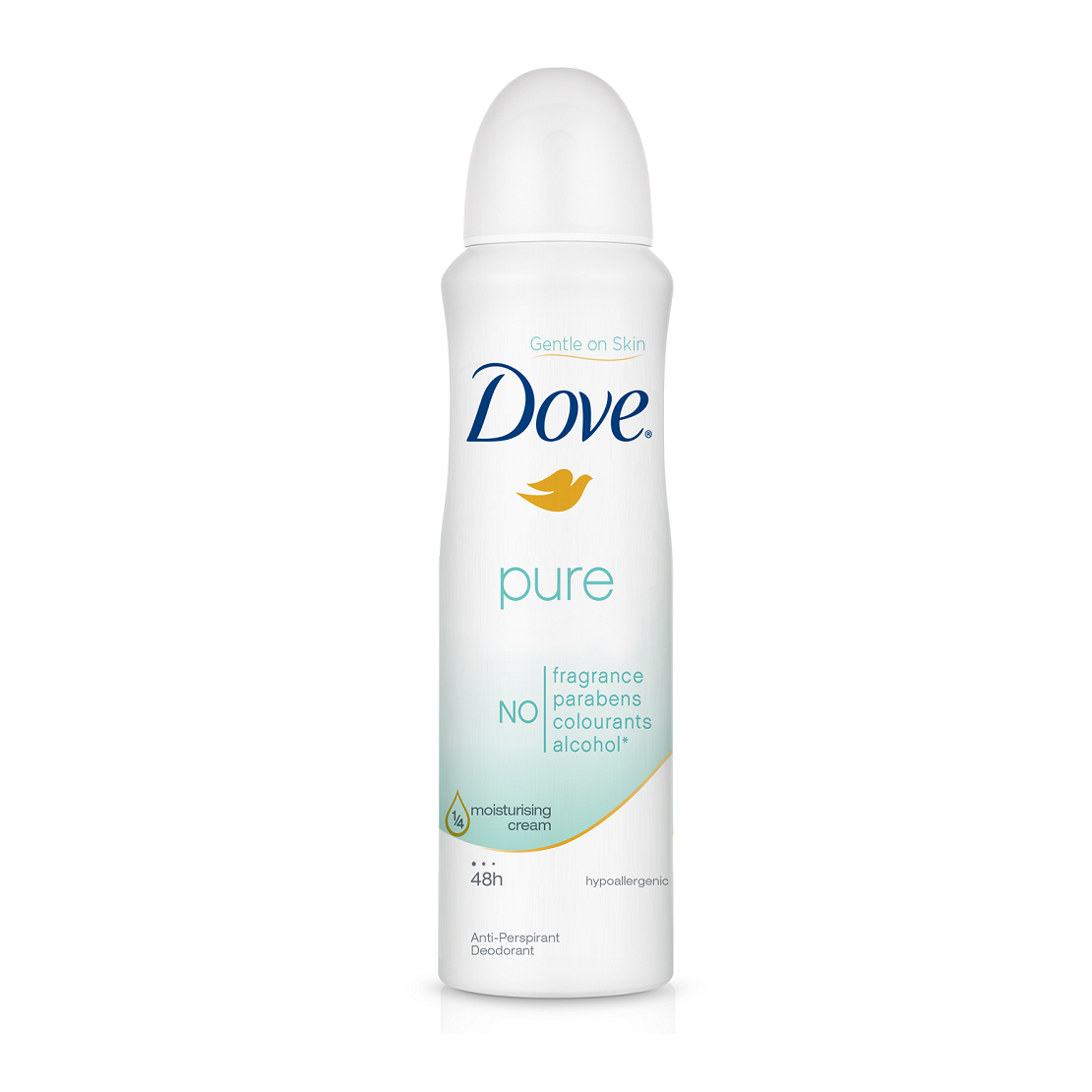 Dove Anti-Perspirant Anti-Transpirant Deodorant Body Spray-NA10709