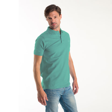 M&S Polo Shirt For Men-Sea Green-BE2109