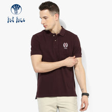 Fat Face Polo For Men Cut Label-Dark Brown-BE2528