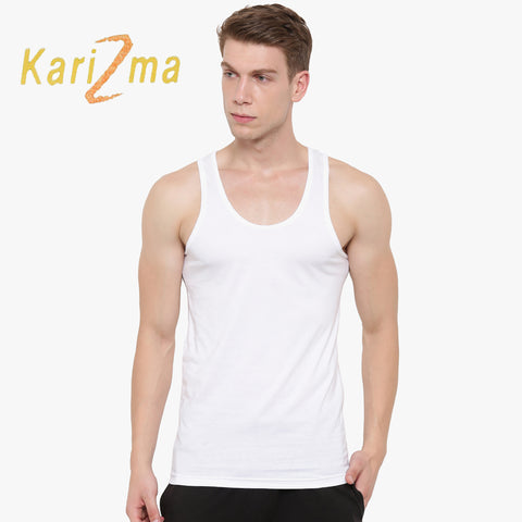 Karizma Inner-Wear Sleeveless Vest For Men-BE4322