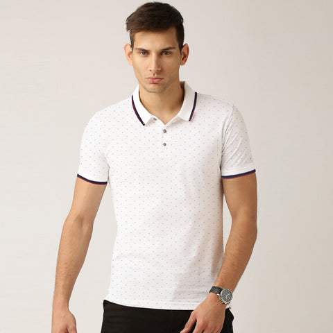 George Polo Shirt For Men -White-BE2010