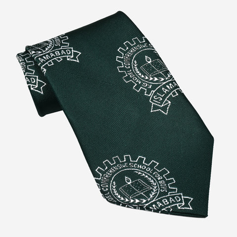 F.G CSFB Islamabad Silk Tie For Boys-NA1030