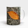 Fallen Leaf Autumn Printed Mug-NA5828