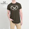 Farrell Crew Neck Single Jersey Tee Shirt For Men-Dark Oilve-NA8625