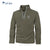 Fat Face 1/3 Zipper Mock-Neck For Men-Light Olive Green-BE4191