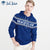 Fat Face Fleece Pullover Hoodie For Men-Royal Blue-BE6275