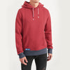 Fat Face Fleece Pullover Hoodie For Men-Coral Pink-NA7113