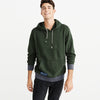 Fat Face Fleece Pullover Hoodie For Men-Dark Green Melange-NA7114