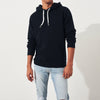 Fat Face Fleece Pullover Hoodie For Men-Dark Navy-NA6862