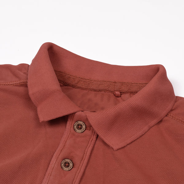 Fat Face P.Q Polo Shirt For Men-Coral Red-NA971