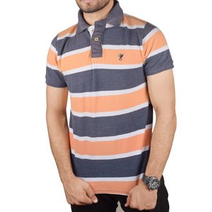 Fat Face  Polo Shirt For Menl-Multi Stripe-BA000128