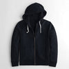 Fat Face Terry Fleece Zipper Hoodie For Men-Dark Navy-NA6814