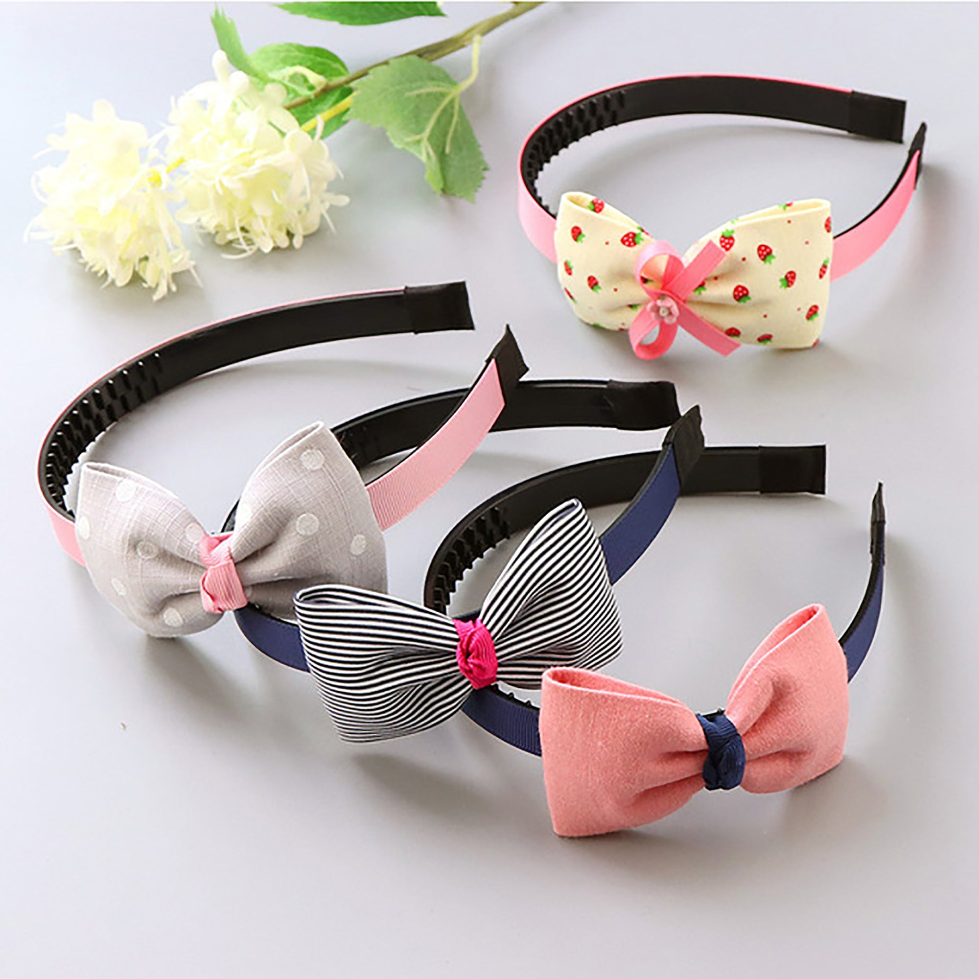 1 Piece Funky Fashion Flora Design Hair Band-NA5131