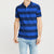 brandsego - GAP Short Sleeve P.Q Polo Shirt For Men-Navy & Blue Striper-NA8083