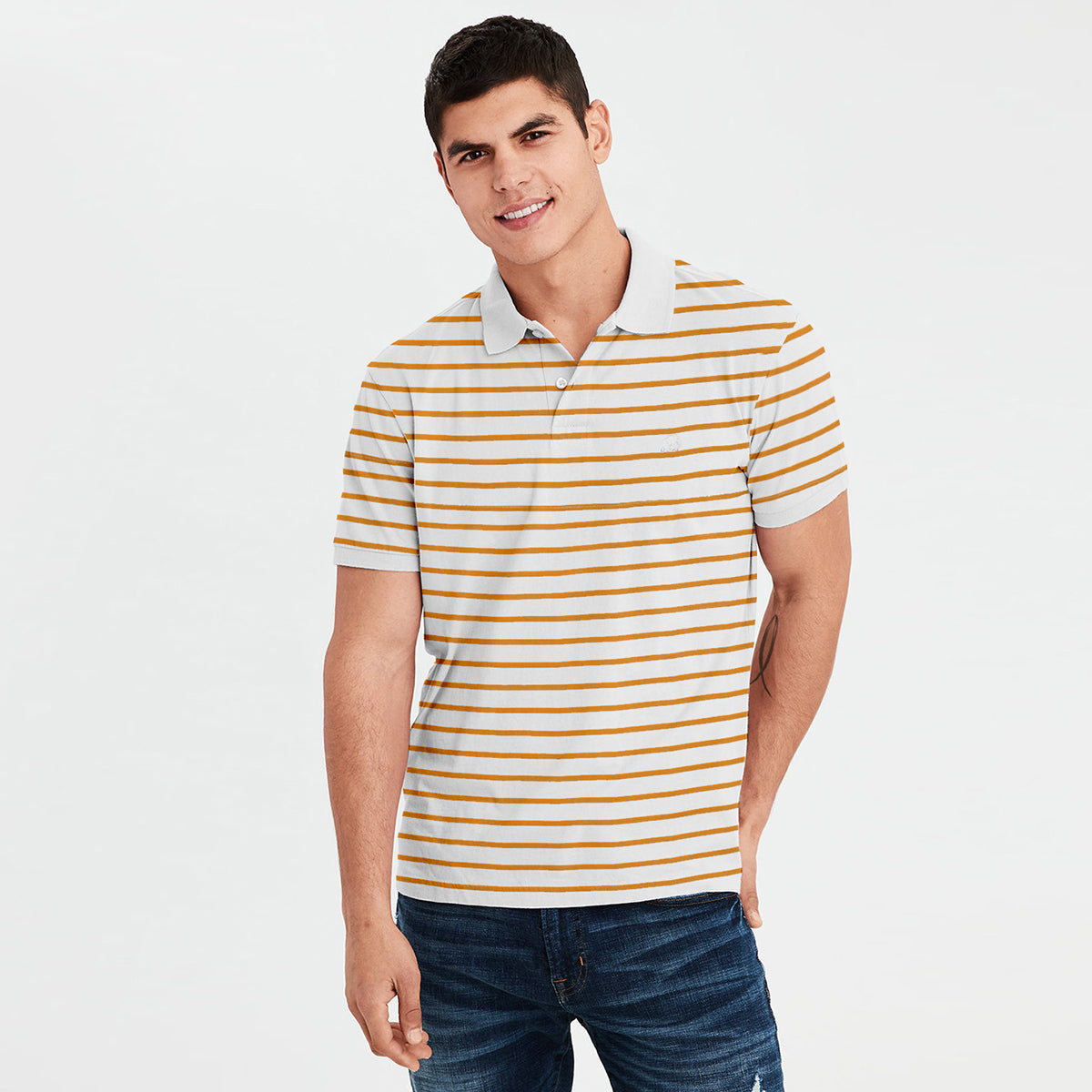 brandsego - Banana Republic Short Sleeve P.Q Polo Shirt For Men-NA7979