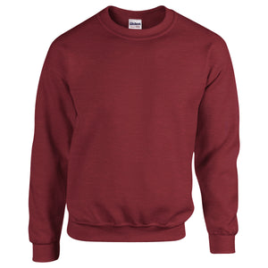 Next Crew Neck Sweat Shirt For Kids-Maroon Melange-Be2422