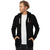 Drift King Fleece Full Zipper Hoodie For Men-Black-BE3532