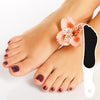 Gem Foot Shaped Pedicure File-White-NA5357