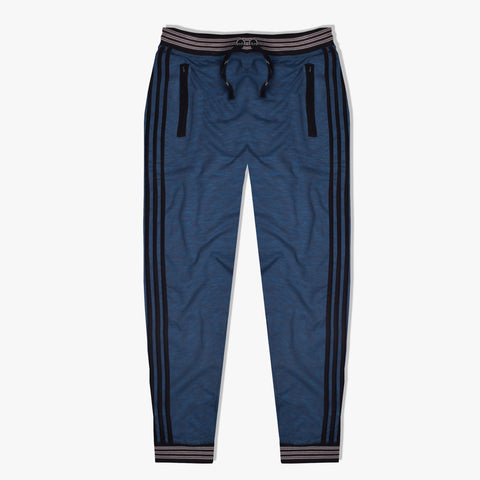 Adidas Jogger Trouser For Men-Blue Melange-ADT07