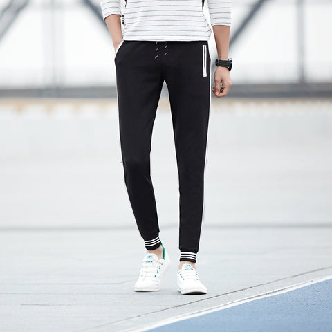 Adidas Jogger Trouser For Men-Black-ADT03