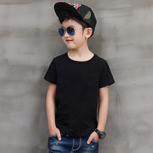 Next T Shirt For Kid Cut Label-Black-PSK14