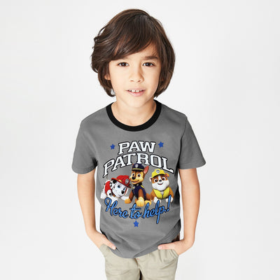 brandsego - H&M Crew Neck Single Jersey T Shirt For Kids-NA8476