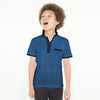 brandsego - H&M Half Sleeve Single Jersey Polo Shirt For Kids-Allover Printed-NA8699