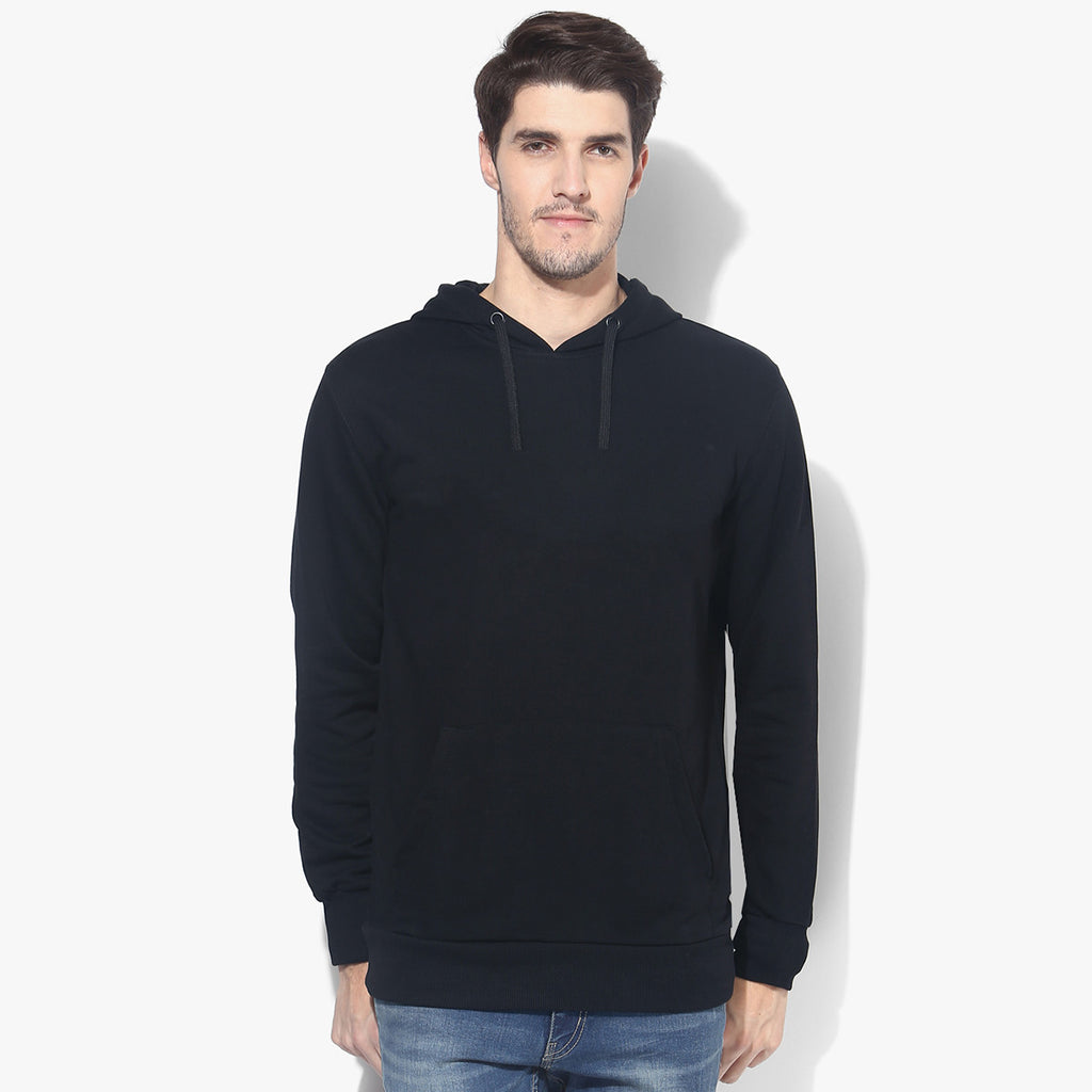 "Mens Cut Label ""Kukri Sports"" Pullover Hoodie Fleece -Dark Navy-CLH31"