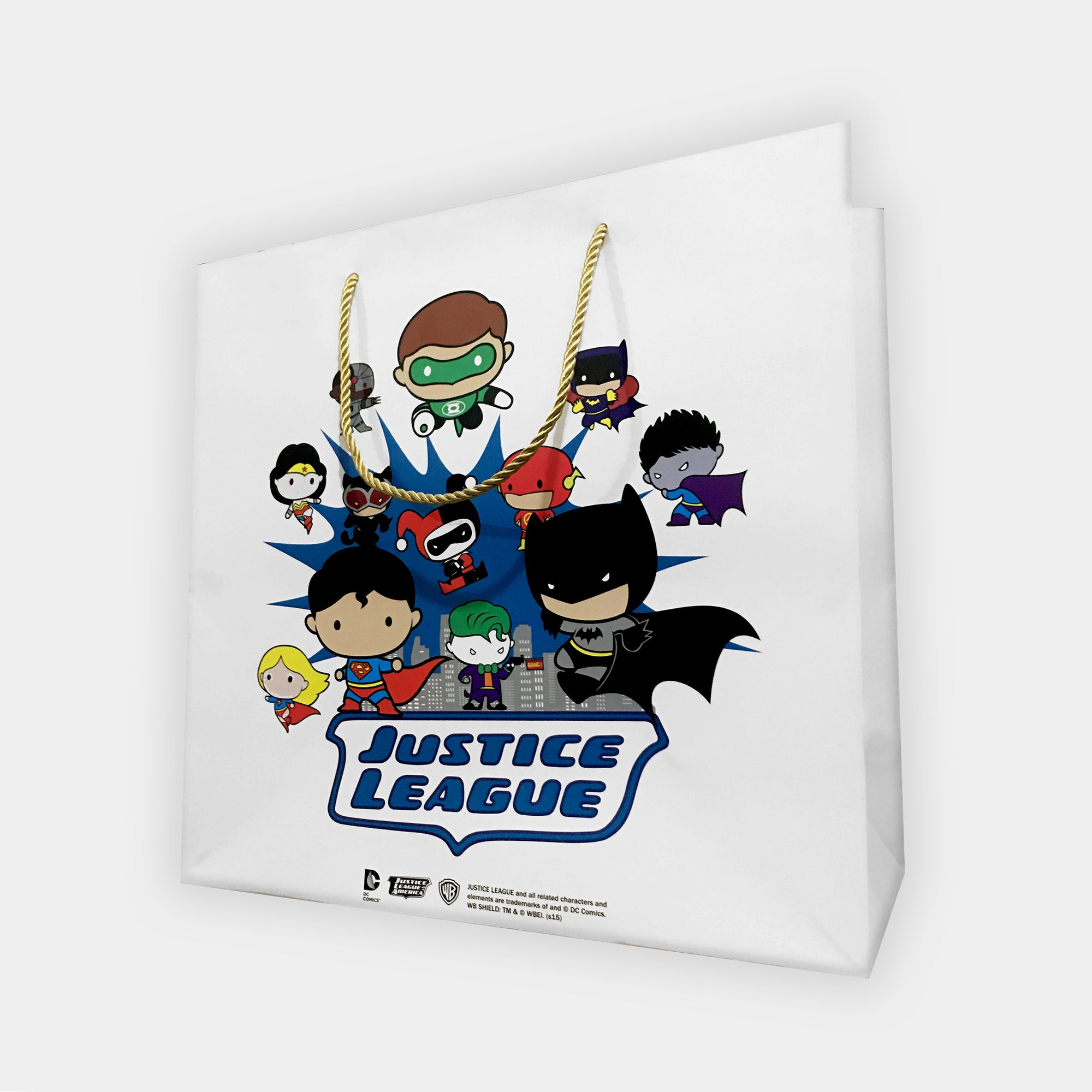 Stylish Justice League Printed Gift Bag-NA11370
