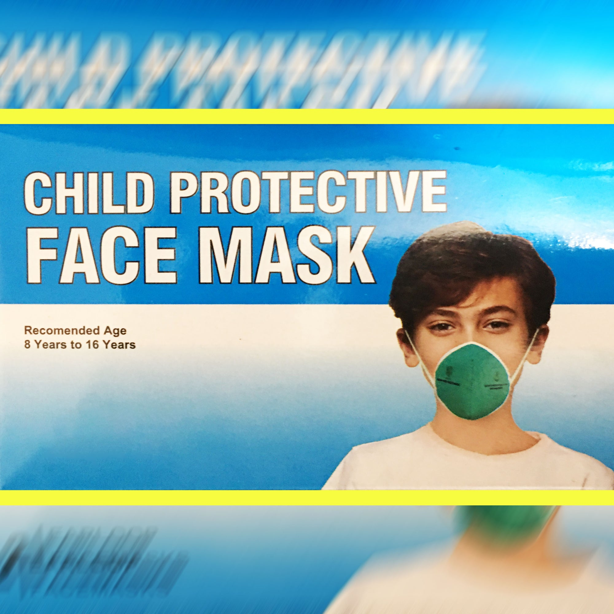 Child Protective Face Mask For Kids-Assorted-NA11499