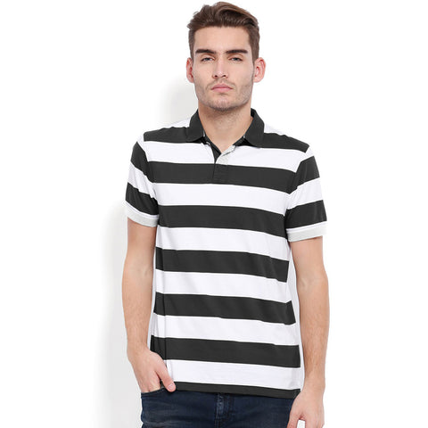 Fat Face Polo Shirt For Men-Striped-BE1037