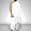 2 Pieces Ihram Towel For Men Super Quality 100 % Cotton - (700)
