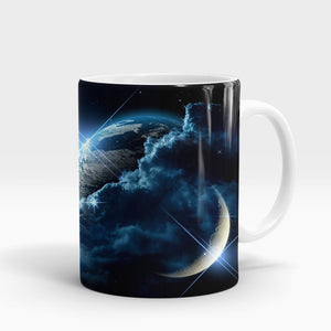 Intergalactic Clouds Printed Mug-NA5819