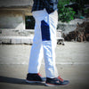 brandsego - JAK Cargo Trouser For Men-White-ST19