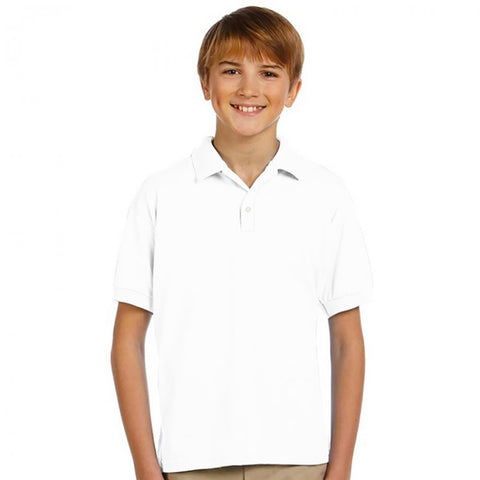Winner College Polo Shirt For Kids-White-BE2262