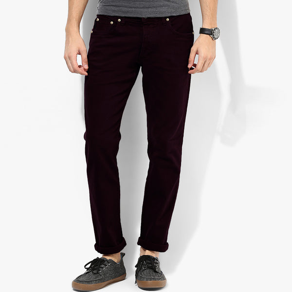 Men's Mango Slim Fit Strech Denim Dark Indigo- MD01