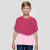 Next Sing Jersey T Shirt For Kids Pink White-BA00299
