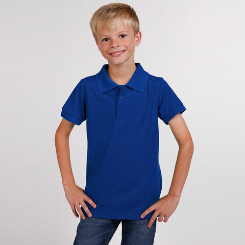Dickies Polo Shirt For Boys-Blue-BE2264