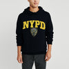 New York Popular Fleece Pullover Hoodie For Men-Dark Navy-NA9920