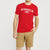 brandsego - Beverly Hills Crew Neck Half Sleeve Tee Shirt For Men-Red-NA9074