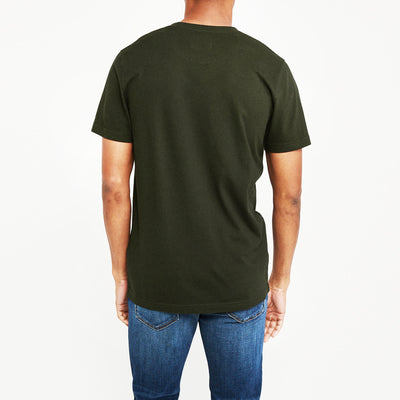 brandsego - Levis Crew Neck Single Jersey Tee Shirt For Men-Green Faded-NA8727
