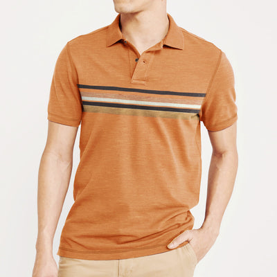 brandsego - Outdoor Life Short Sleeve Single Jersey Polo Shirt For Men-BE8372