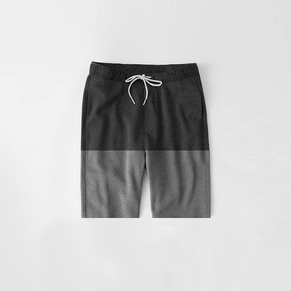 Diesel Summer Short For Kids-Charcoal & Dark Grey Melange-NA11292