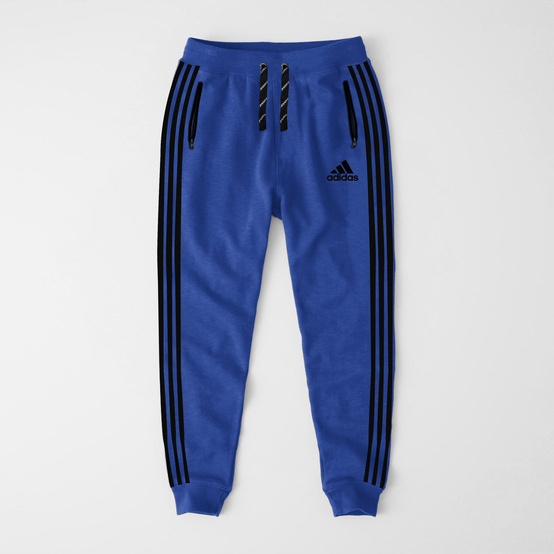 Adidas Single Jersey Slim Fit Jogger Trouser For Men-Light Blue-NA8244