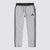 Adidas Single Jersey Regular Fit Jogger Trouser For Men-Grey Melange With Charcoal Melange & Grey Stripe-SP636