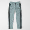 Adidas Single Jersey Regular Fit Trouser For Men-Light Sea Green With Black Stripes-SP464
